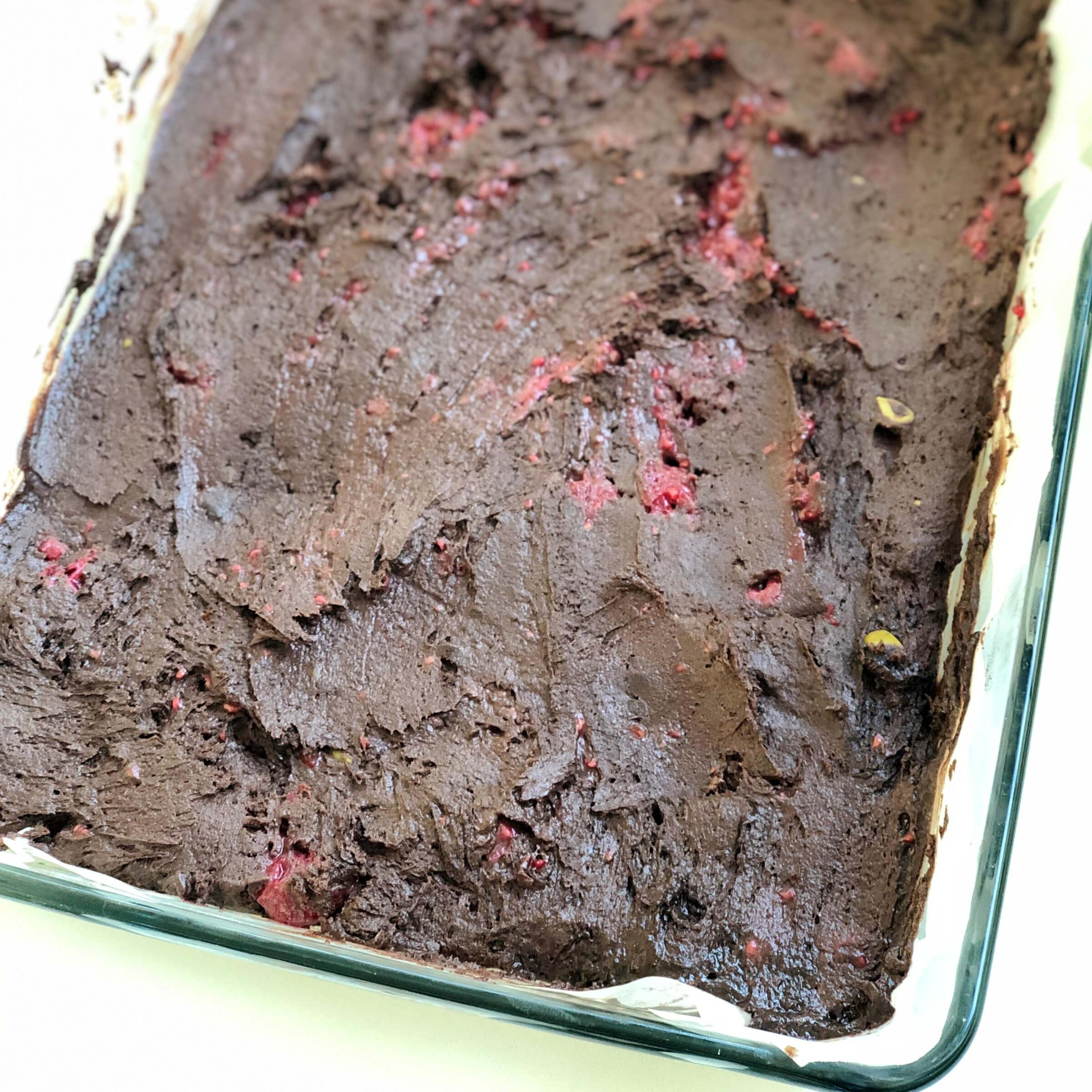 Brownies smalinami apistáciemi