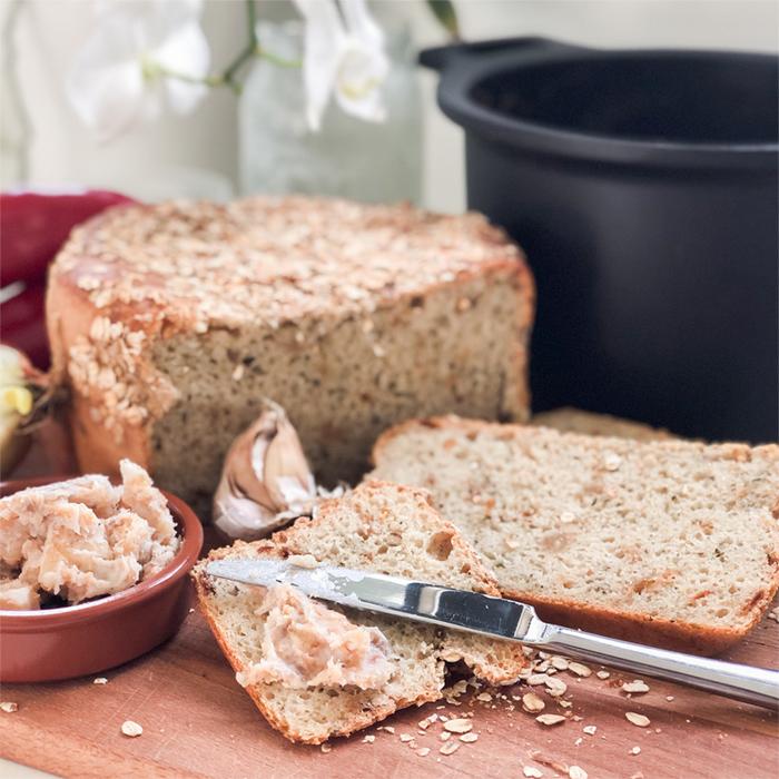 Chléb seškvarky, pivem arozmarýnem