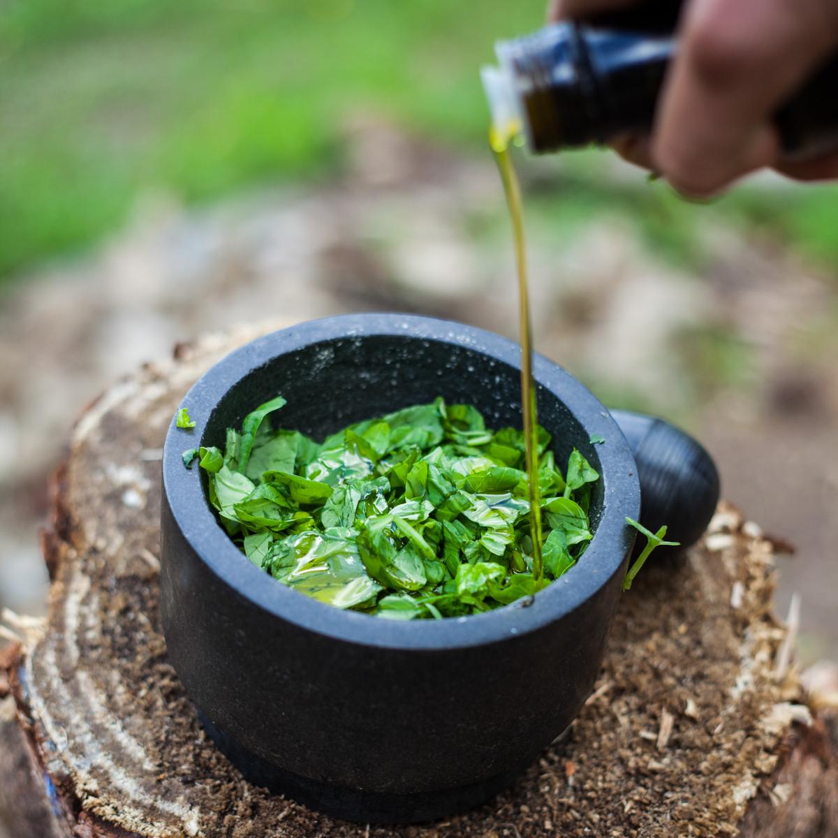 Grilovaná zelenina spestem