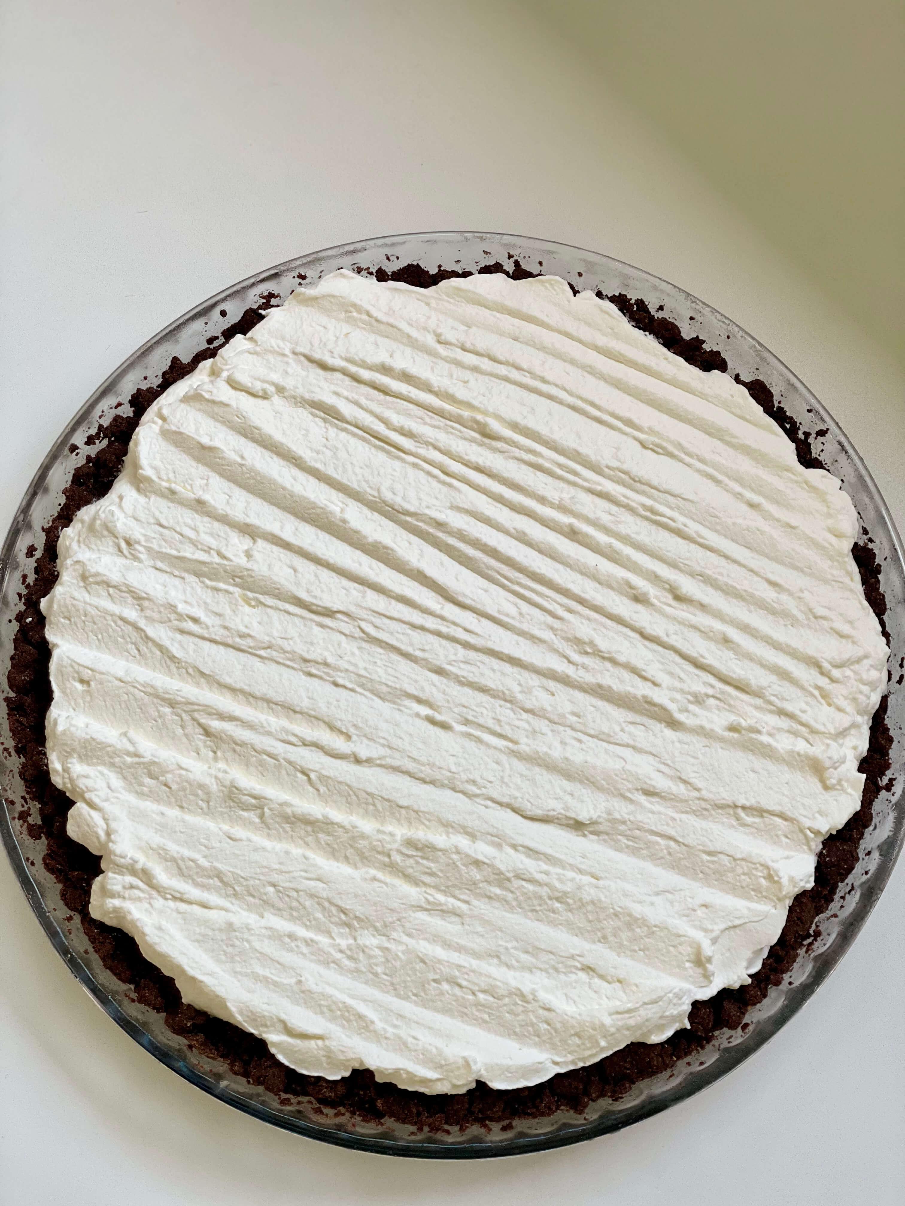 Limetkový koláč smátou