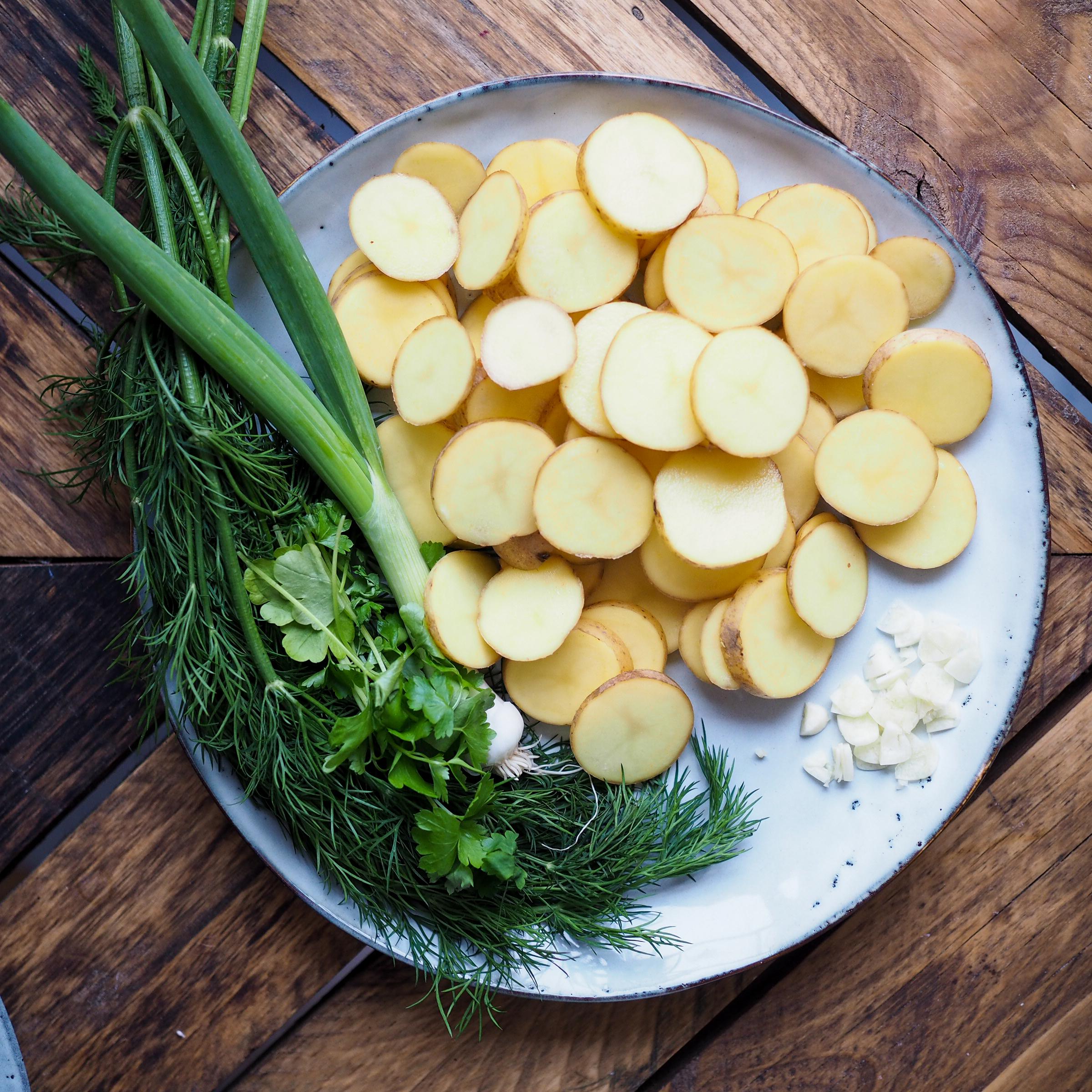 Zeleninová polévka slososem akoprem