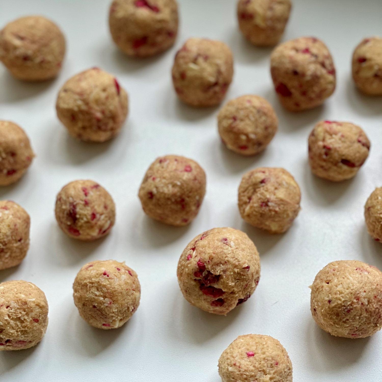 Sušenky skokosem amalinami
