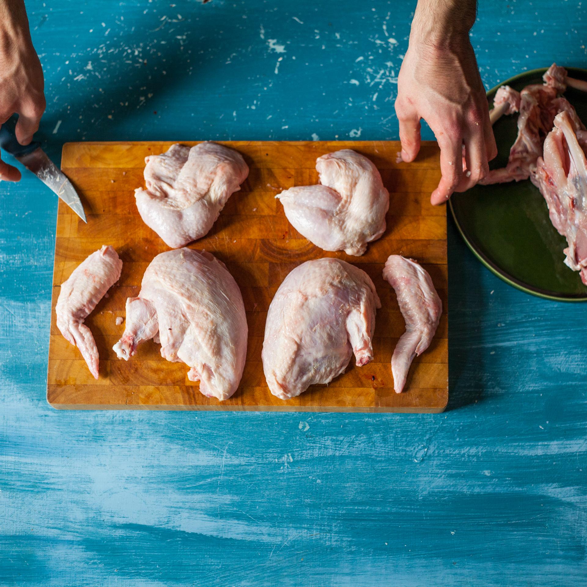 Jak vykostit anaporcovat kuře